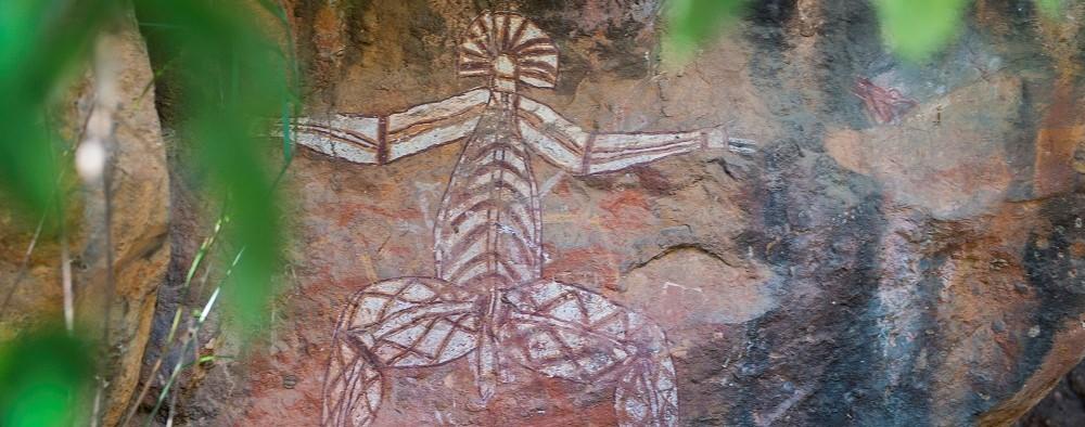 Aboriginal rock art in Kakadu National Park (2)