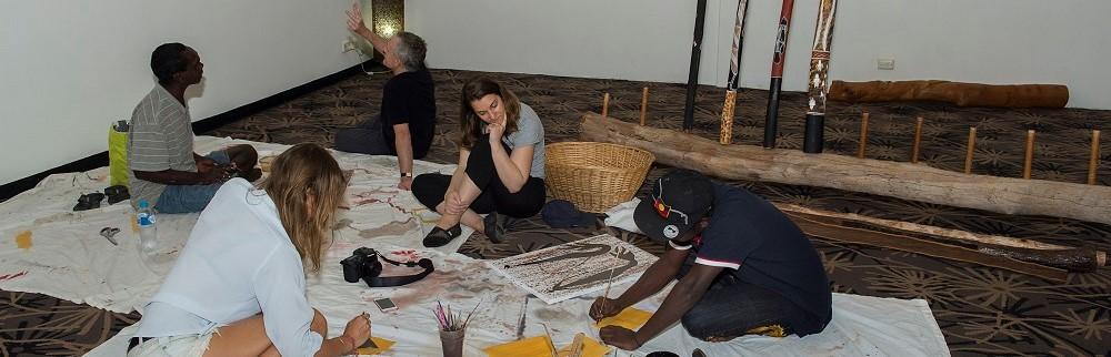 Art at Kakadu Crocodile Hotel