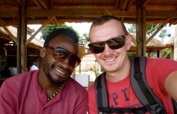 One of my hosts in Uganda_blog