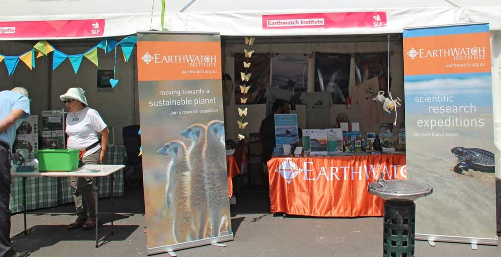 Earthwatch stand (2)