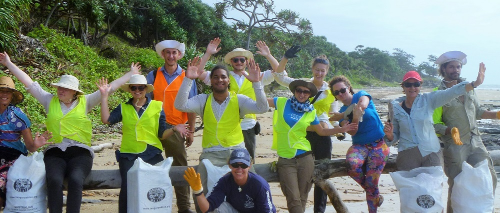 Tangaroa Blue beach clean-up at Captain Billy's Landing in Cape York