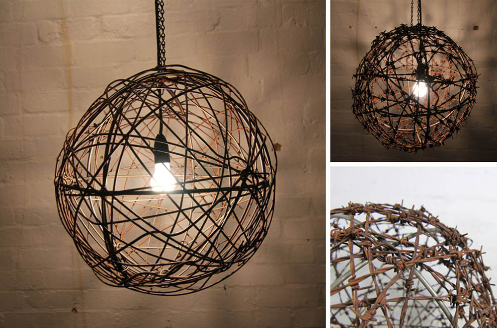 recycled products mulbury-recycled-wire-lampshades