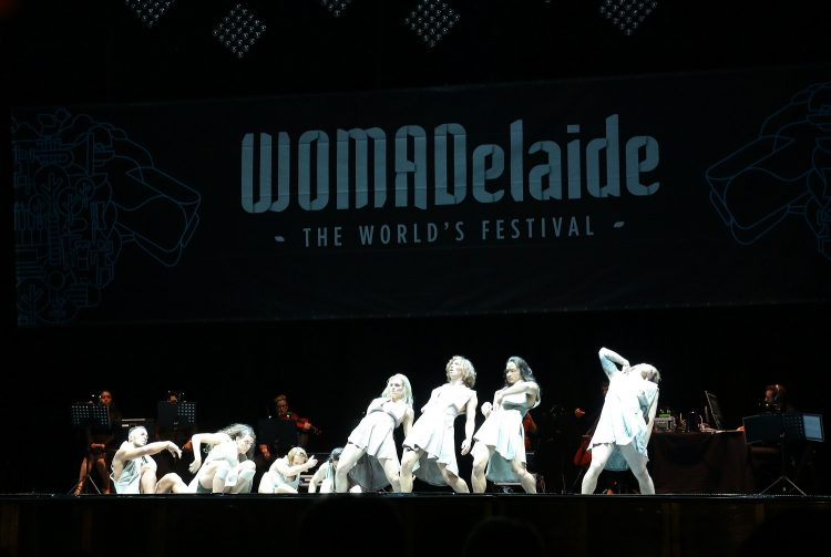 Womadelaide Australian Dance Theatre perform