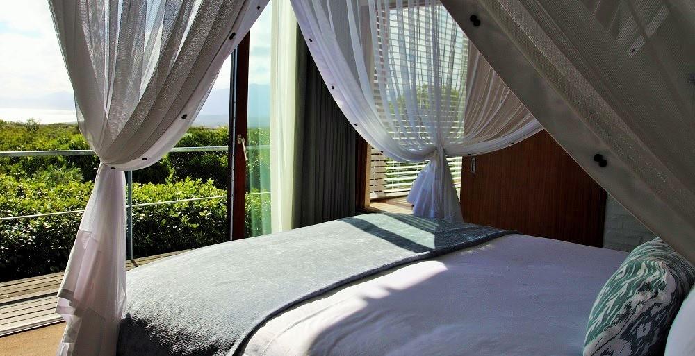 Grootbos' private suites overlooking Walker Bay