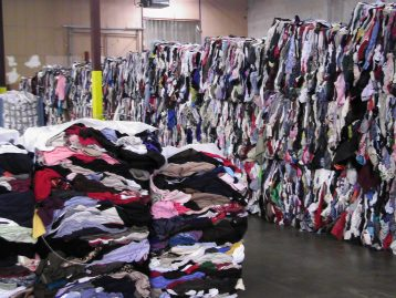 Clothes piles