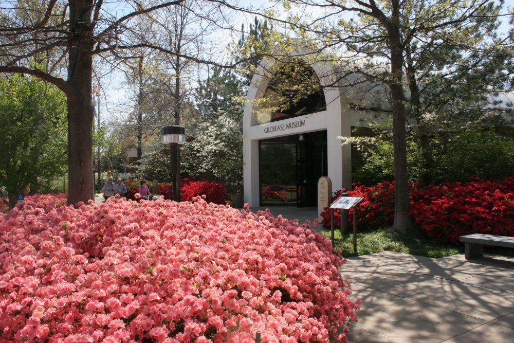Gilcrease Museum Entrance; Tulsa, OK-OTRD
