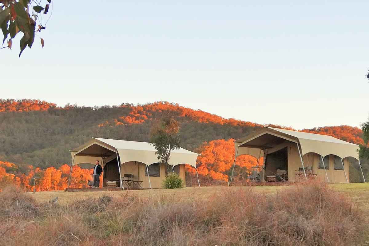 P11_Spicers Canopy tent accommodation